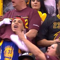 Wearing A Curry Jersey Under Your Cavs Shirt Is A Preposterous Way To Dress For A Game