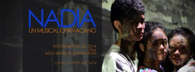 The picture we used for the official poster of Nadia: Un Chavacano Musical