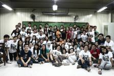 A growing family of future Biologists! Minus the fourth years who are busy except for me and Waylid who attended :)