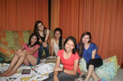 April 26, obligatory summer sleepover at Jessa's house before the start of the new term at school.