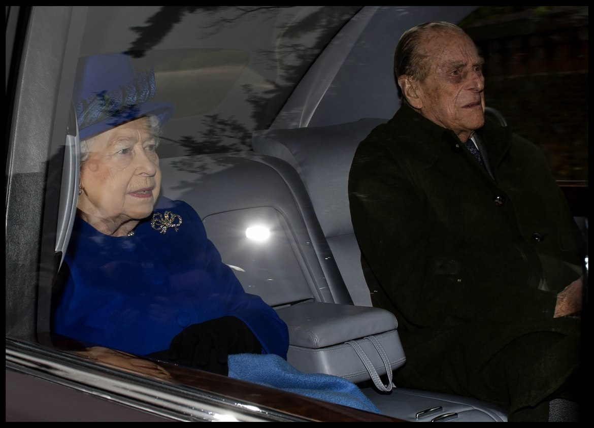 The Queen and Prince Philip, Duke of Edinburgh are now at Windsor. Picture by Andrew Parsons / i-Images