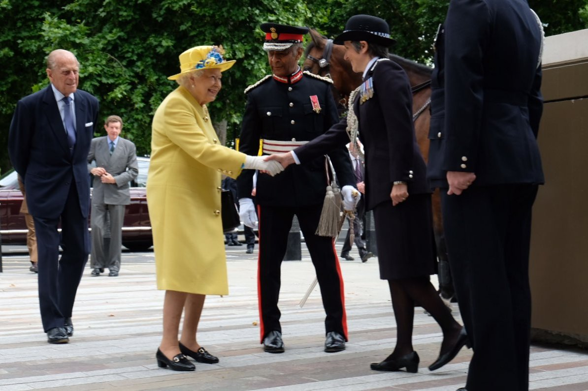 The Queen and Prince Philip opened the new Met Police headquarters (Royal Family)