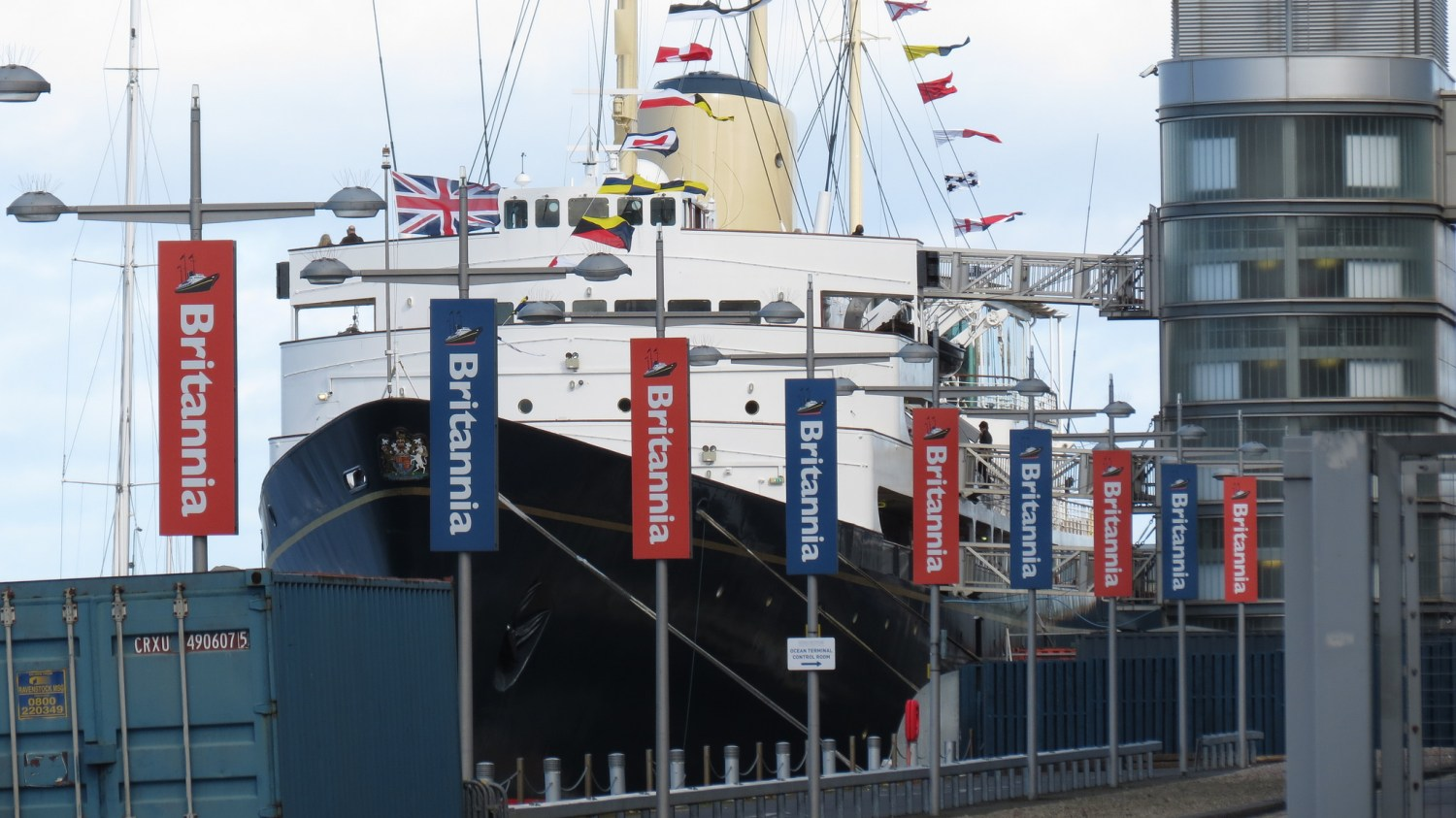 The Royal Yacht Britannia, which was decomissioned in 1997 (Mark Carey, Flickr)
