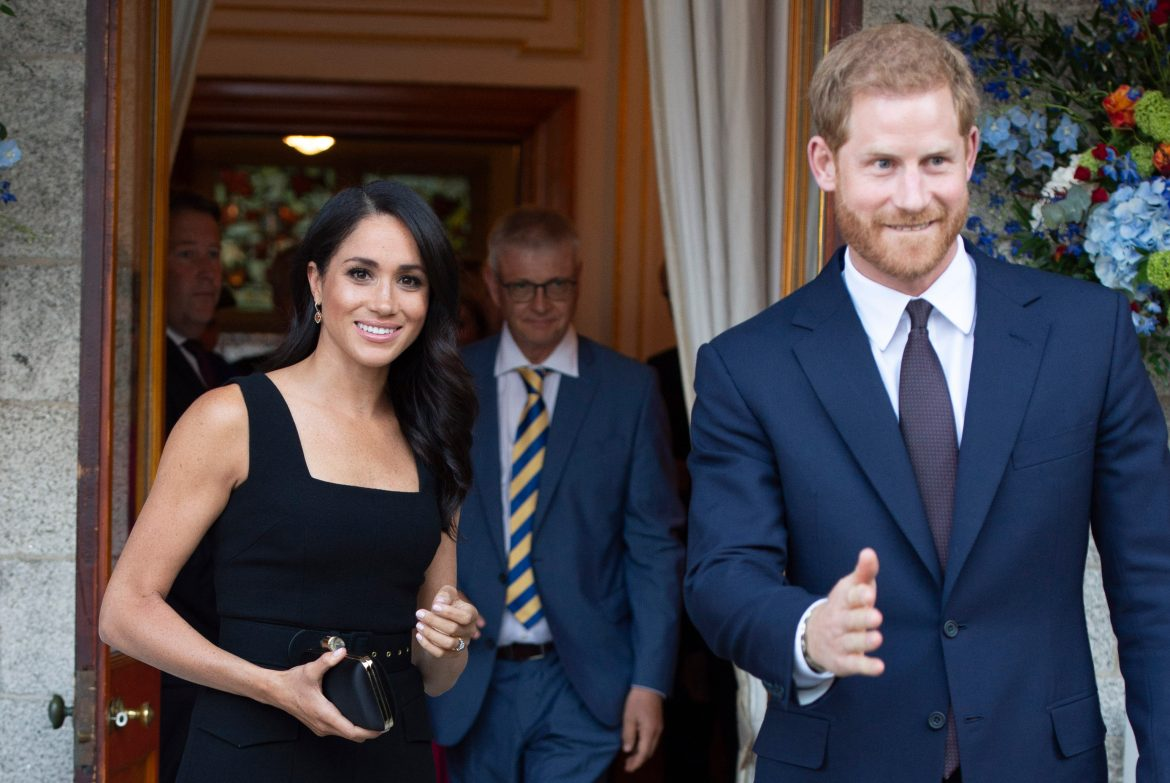 The Duke and Duchess of Sussex in Ireland-Day one