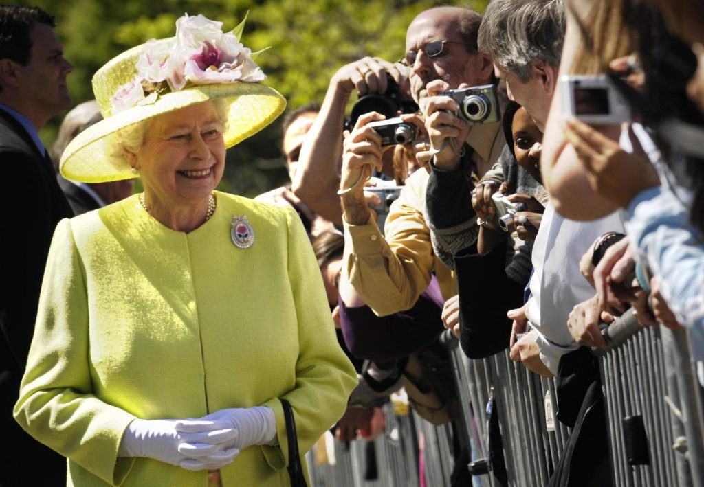 The Queen has only given 4 other video addresses in her reign (NASA)