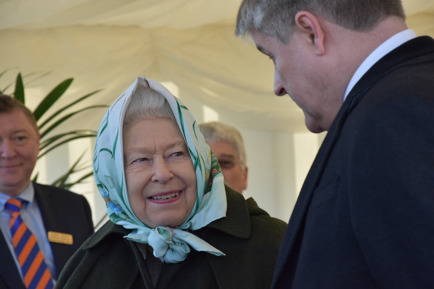 The Queen opened Wolferton Pumping Station, more than seven decades after her father opened the original (Royal Family)