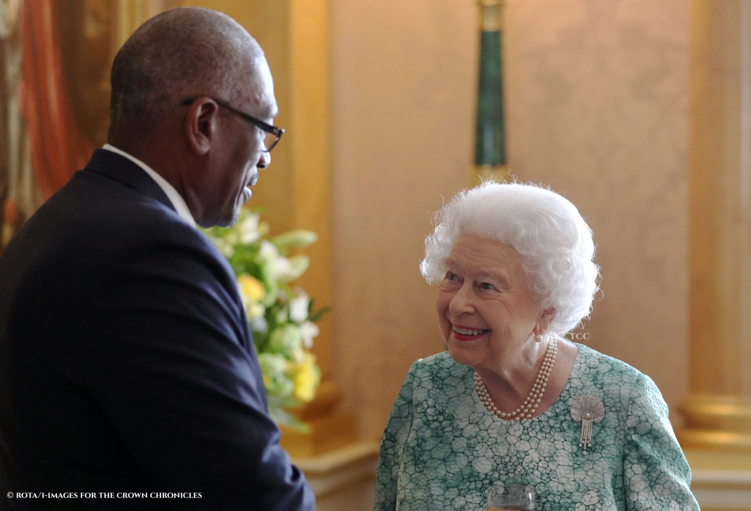 The Queen has been patron of the British Red Cross for 65 years