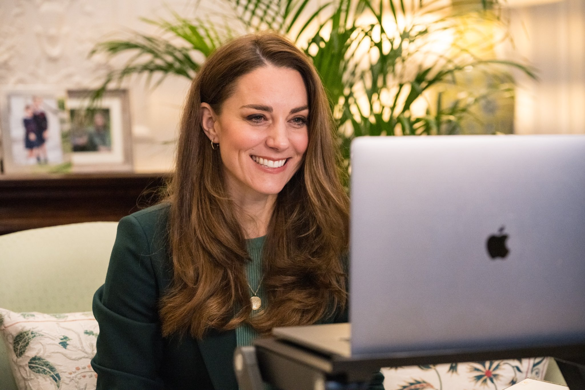 Kate Middleton says her children are horrified by her haircuts