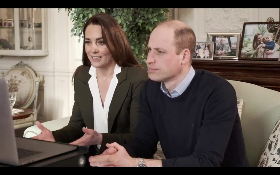 The Duke and Duchess of Cambridge discussed vaccines with two women with underlying health conditions that made them vulnerable