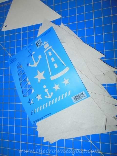 070414-4 Patriotic Inspiration: Coastal Bunting Crafts Holidays