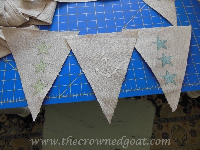 070414-6 Patriotic Inspiration: Coastal Bunting Crafts Holidays