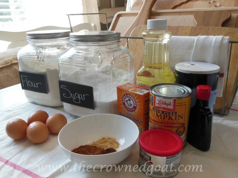 091214-2 Fall Blog Series: Pumpkin Spice Bars Baking Fall
