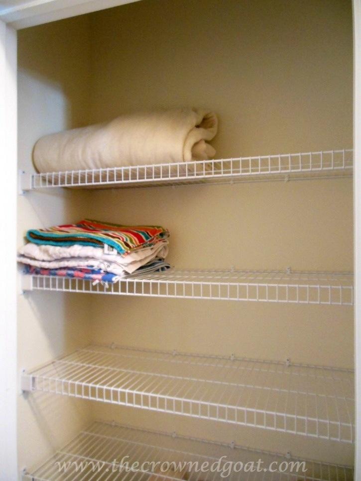102214-4 Linen Closet Organization Organization