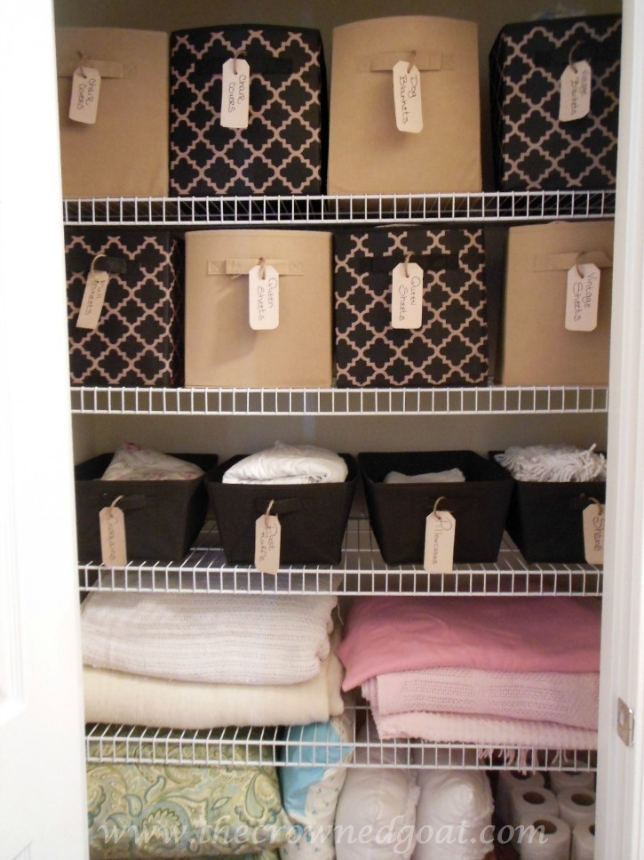 Budget-Friendly-Linen-Closet-Ideas-102214-12 Budget Friendly Bathroom Organization Organization