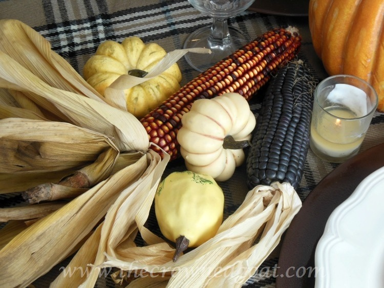 110514-4 Thanksgiving Inspiration Pumpkin, Gourd, Corn