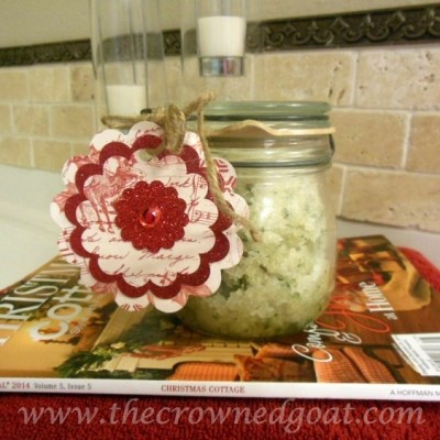 A Gift From the Kitchen: Lemon Balm and Rosemary Sugar Scrub