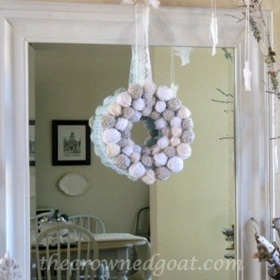 Holiday Blog Series: Yarn Ball Wreath