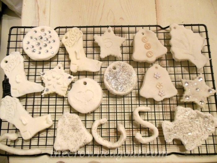 120414-13 Holiday Blog Series: Make at Home White Ornaments Crafts Holidays