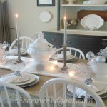 Holiday Blog Series: Winter Wonderland Tablescape