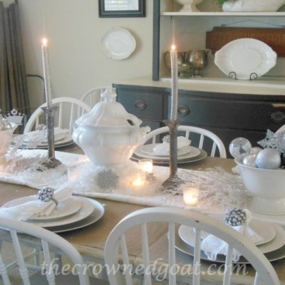 Holiday Blog Series: Winter Wonderland Tablescape