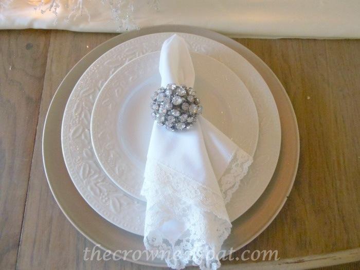 120514-2 Holiday Blog Series: Winter Wonderland Tablescape Christmas Decorating Holidays