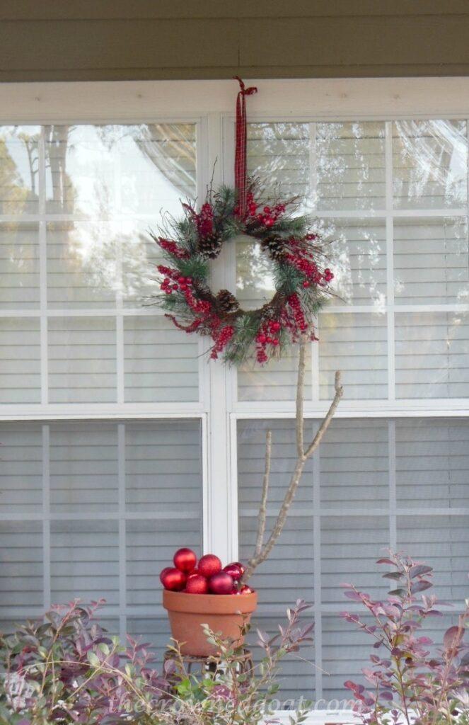 121514-6-Berry-Wreath-663x1024 2014 Christmas Porch Decorating Holidays