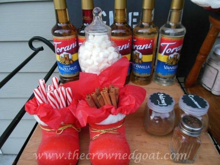 010815-3 Creating a Hot Drink Bar Decorating Holidays