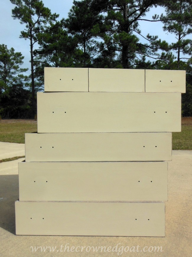 012115-7 ASCP Country Grey Dresser Makeover Painted Furniture
