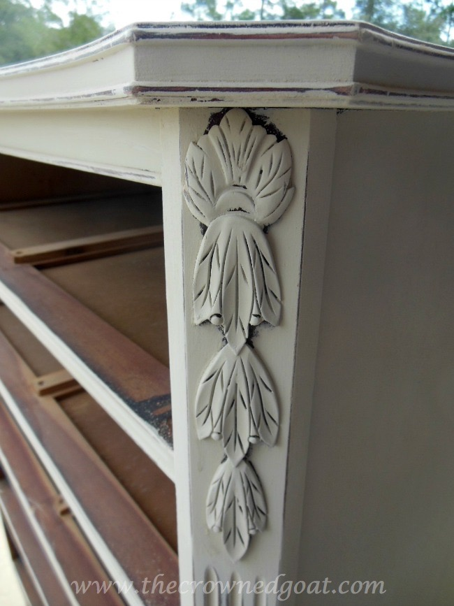 012115-9 ASCP Country Grey Dresser Makeover Painted Furniture