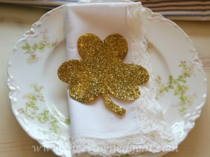 03072014-11 St. Patrick's Day Inspired Tablescape Decorating Holidays