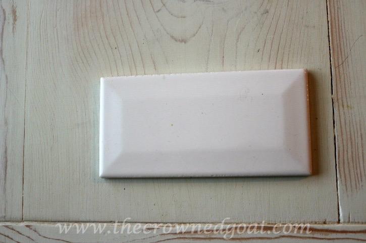 030315-1 Kitchen Diaries: Subway Tile Application Day 1 DIY