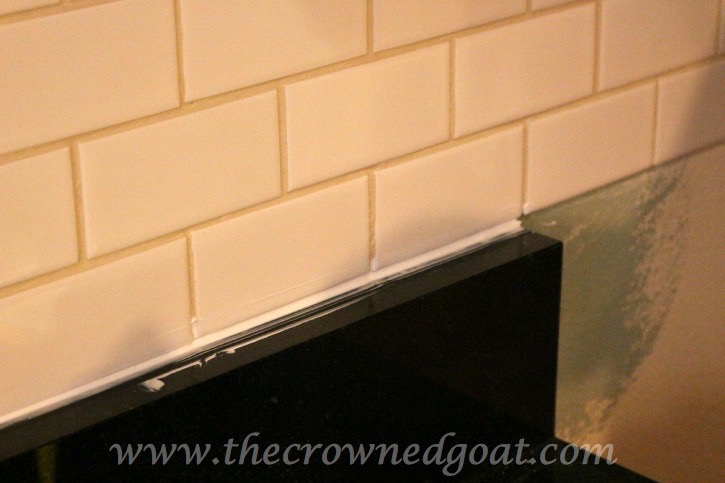 030415-9 Kitchen Diaries: Subway Tile Backsplash Grout Day 2 DIY
