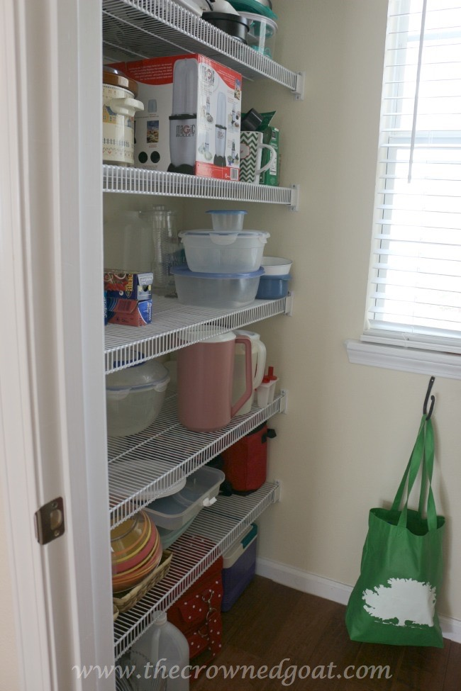 030615-3 Pantry Organization: One Year Later Organization