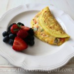 032015-5-Easy-Veggie-and-Herb-Omelet-The-Crowned-Goat Baking