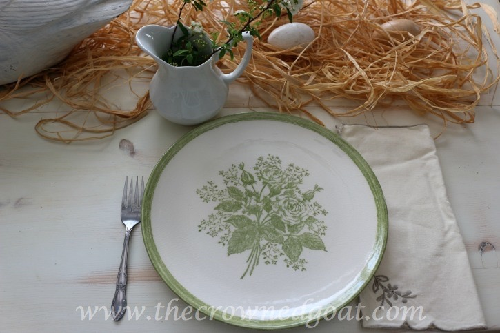 032415-4 Spring Inspired Kitchen Table Decorating Holidays