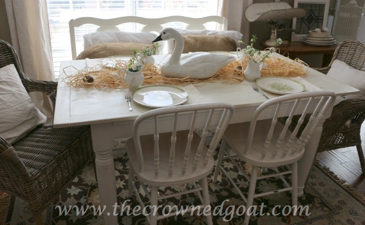 032415-8 Spring Inspired Kitchen Table Decorating Holidays