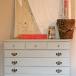 Pale Green Sea Glass Inspired Annie Sloan Chalk Painted Dresser
