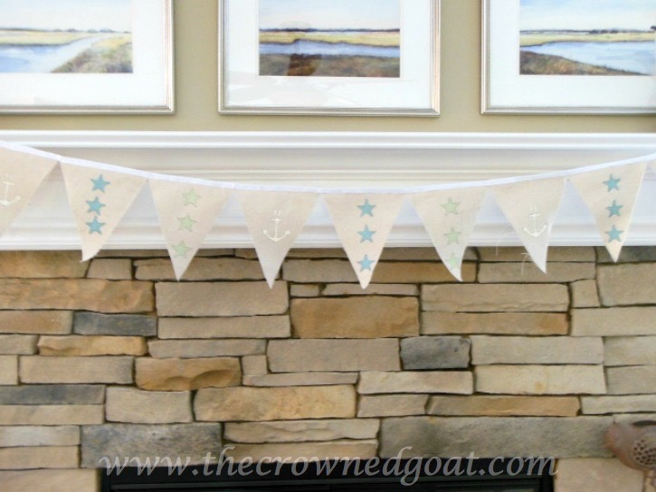 6 Easy to Create Coastal Home Decorating Ideas - The Crowned Goat - 051915-4