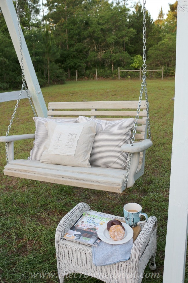 Building-a-Porch-Swing-Frame-The-Crowned-Goat-052015-3 Building a Porch Swing Frame DIY