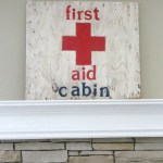 First-Aid-Cabin-Sign-The-Crowned-Goat-052615-2 Decorating