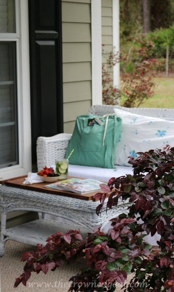 Shop-Your-Home-Front-Porch-Makeover-The-Crowned-Goat-051515-3-613x1024 Shop Your Home: Front Porch Makeover  Decorating