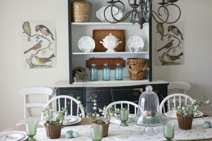 Summer Inspired Dining Room