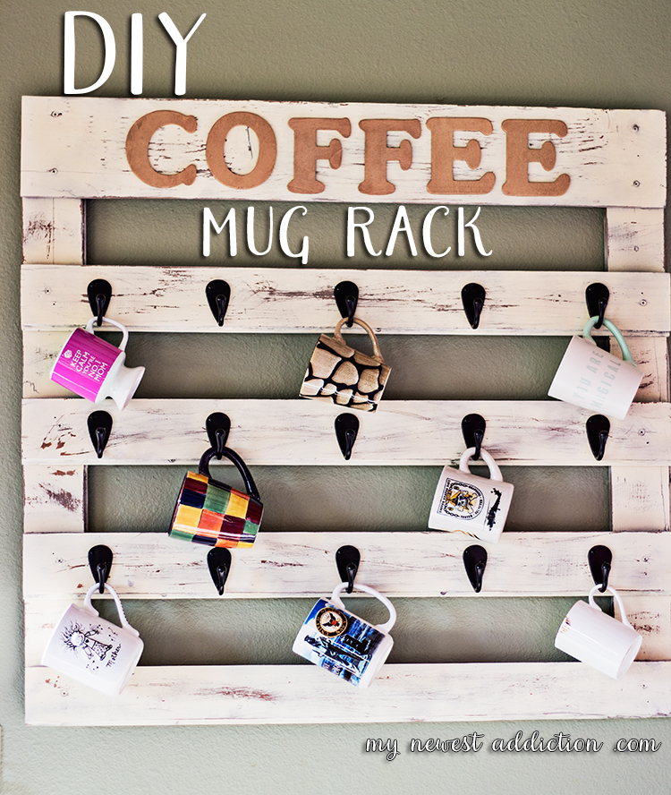 diy-coffee-mug-rack-1 Something to Talk About Link Party #17 LinkParty