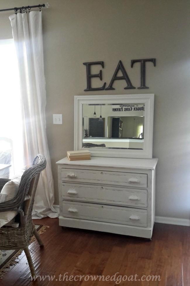 060915-5 Three Drawer Dresser Makeover Painted Furniture