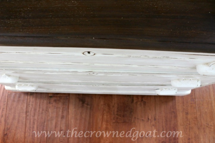 060915-9 Three Drawer Dresser Makeover Painted Furniture