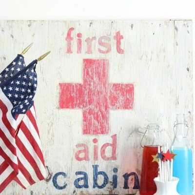How to Make a First Aid Cabin Sign