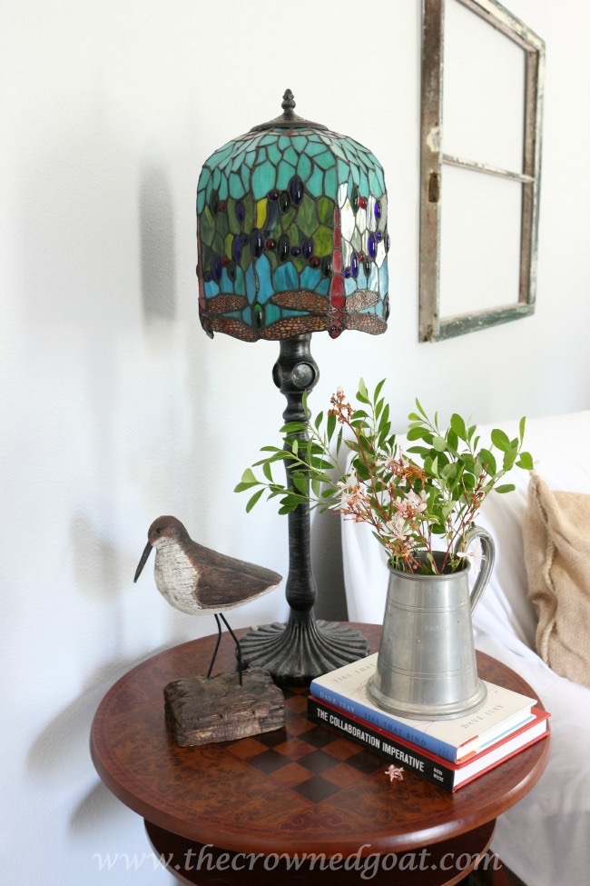 Styling a Bedroom Side Table - The Crowned Goat - 061915-10