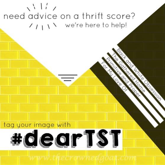 dearTST-v1 Thrift Score Thursday ThriftScoreThurs