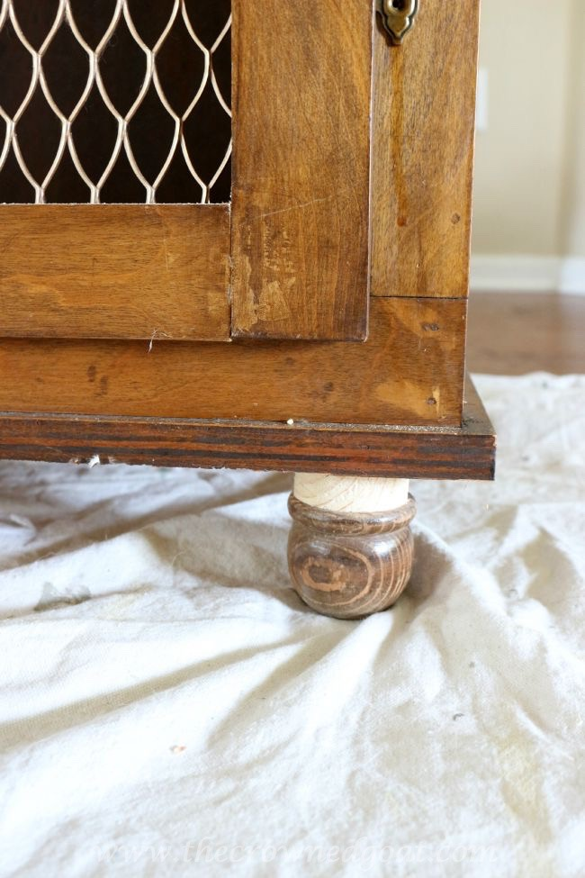 072815-2 Duck Egg Painted Cabinet Painted Furniture
