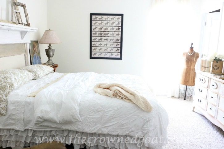 Neutrals Inspired Bedroom Makeover - The Crowned Goat - 071615-16
